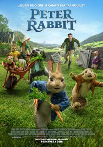 Cartel de la película Peter Rabbit