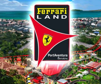 Ferrari Land (PortAventura)-background