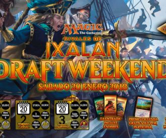 Draft-Weekend Rivales de Ixalan