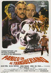 Cartel de la película Pánico en el Transiberiano