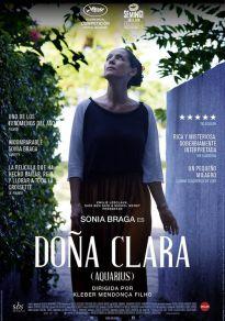 Cartel de la película Doña Clara (Aquarius)