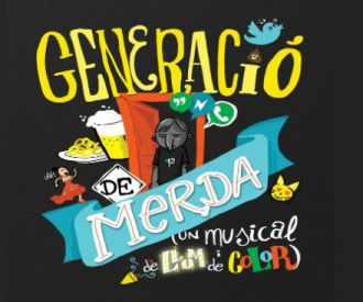 Generació de merda, un musical de llum i color-background