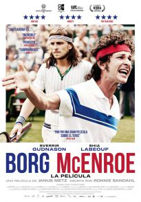 Cartel de la película Borg vs McEnroe