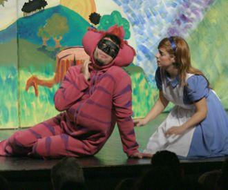 Alicia al pais de les meravelles al Guasch Teatre