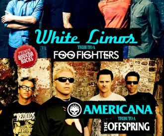 BOVEDA ROCKS!- White Limos (Tributo a Foo Fighters) + Americana (Tributo a Offspring)