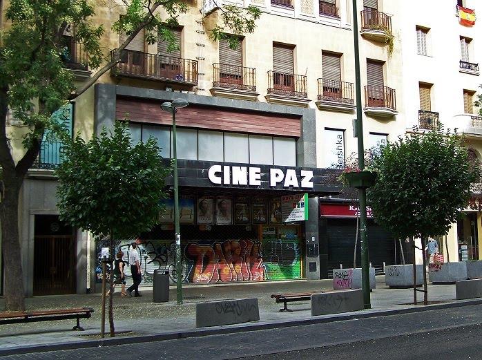 Cartelera Cine Paz Madrid