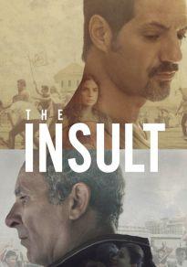 Cartel de la película El insulto