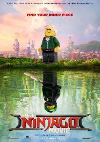 Cartel de la película La LEGO Ninjago Película