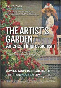 Cartel de la película El jardín del artista: Impresionismo americano