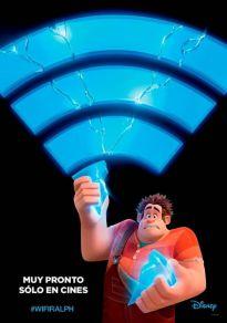 Cartel de la película Ralph rompe Internet