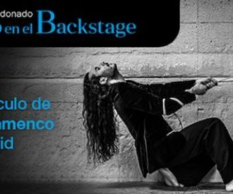 Flamenco en el backstage