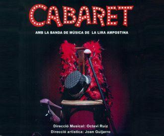 Cabaret amb la Banda de Música de la Lira Ampostina
