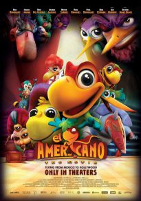Cartel de la película El americano