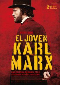 Cartel de la película El joven Karl Marx