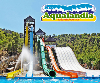 Aqualandia Benidorm-background